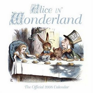 An official Alice in Wonderland product of public domain material? The Red Queen would be so proud. A Happy Un-birthday to our blog!