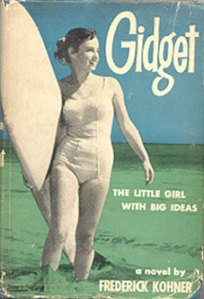 Gidget original book cover